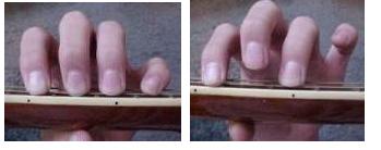 民谣吉他的演奏方式拨弦方法-吉他知识
